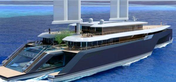 Luxus trimaran  Megayachten | SegelReporter - Teil 4