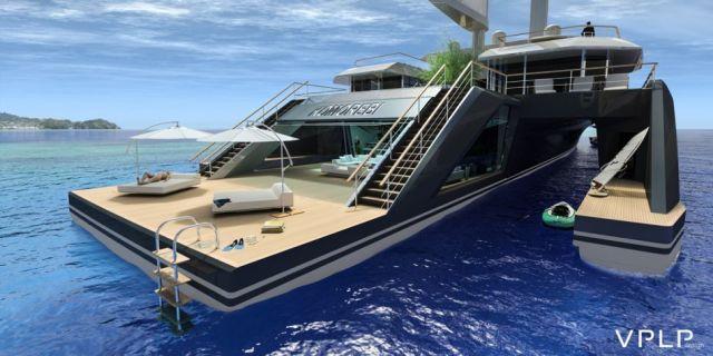 Luxus, Megayacht, Designstudie