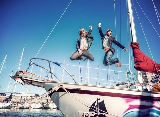 Sailing conductors, Weltumseglung, Musik