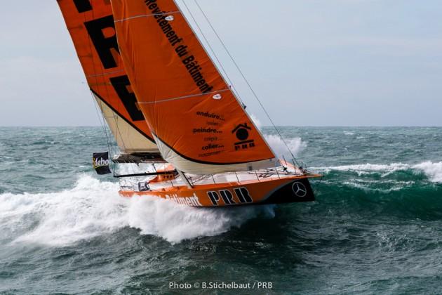 PRB, Riou, Vendée Globe, Sturm, Training