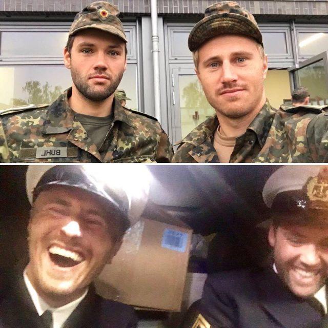Erik Heil Ohilipp Buhl Bundeswehr