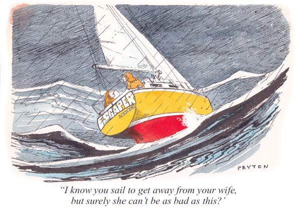 Cartoon, Mike Peyton, Nachruf