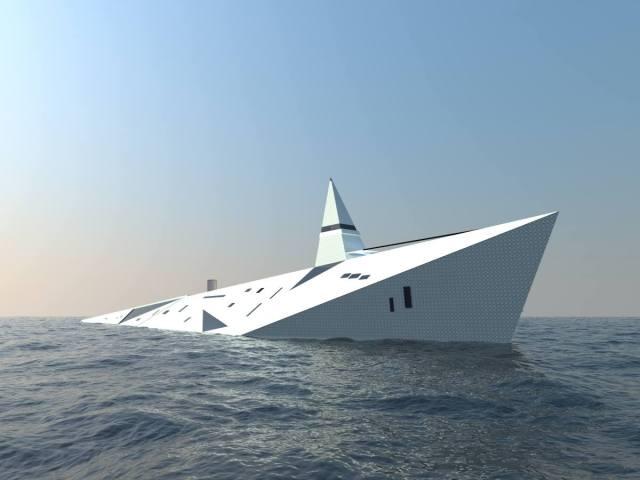 Superyacht, Zeppelin, Vision
