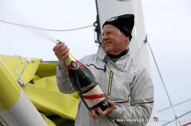 Vendee Globe, Pieter Heerema, erster Niederländer
