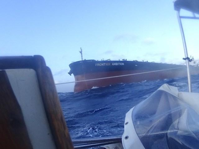 havarie, Southern Ocean, Mastbruch, Rettung