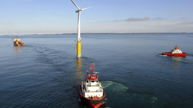Windpark, Windrad offshore,