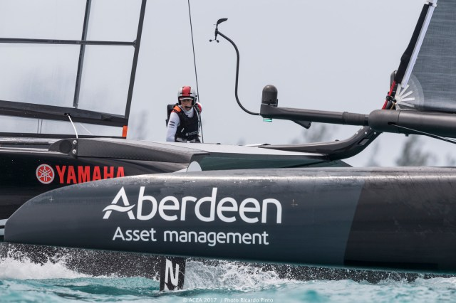 America's Cup, Ainslie