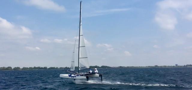 Nacra 17, Foil, German Sailing Team
