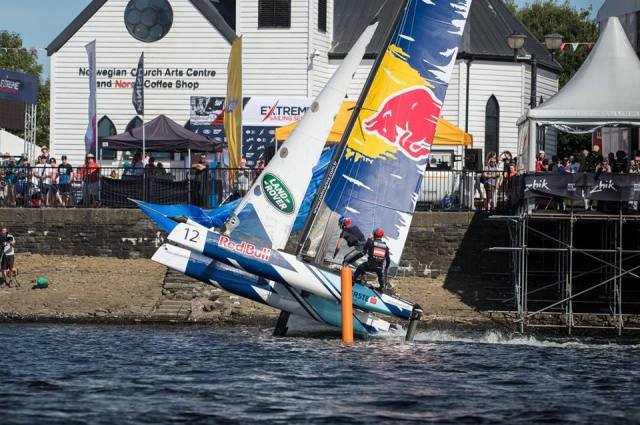 Extreme Sailing Series Cardiff
