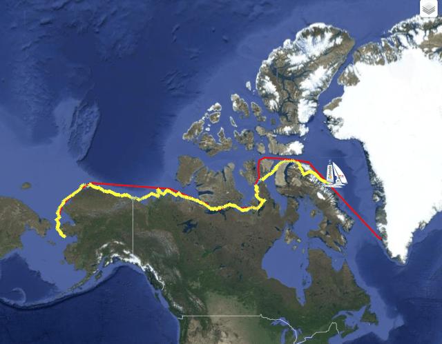 Yvan Bourgnon, Arktis, Nordwestpassage
