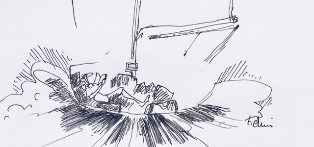 Mini. Transat, cartoon, Francois Denis
