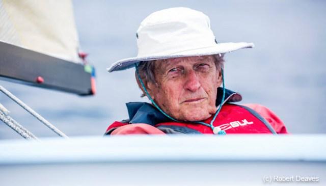Gus Miller ,Finn dinghy