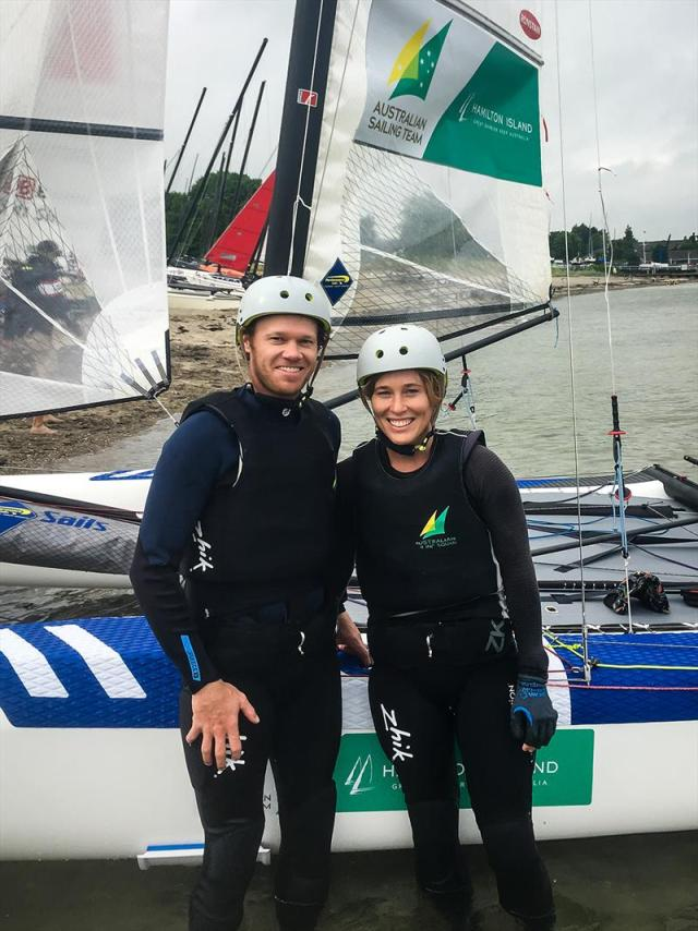 Nathan Outteridge, Nacra