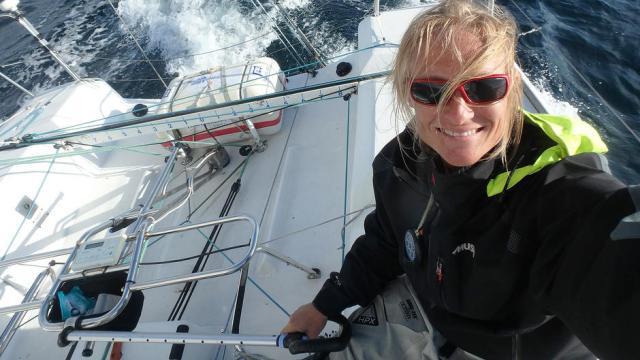 Einhandseglerin, Kristin Songe-Møller