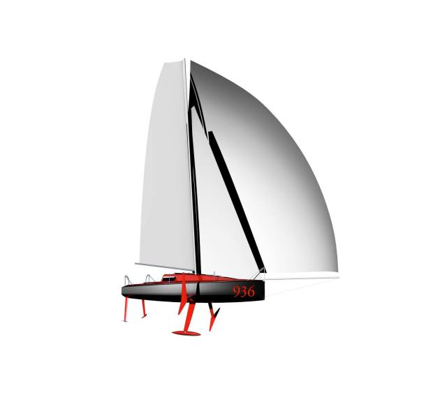 Mini Transat, Foil, Coconut