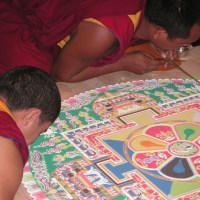 The Art of Tibetan Sand Painting