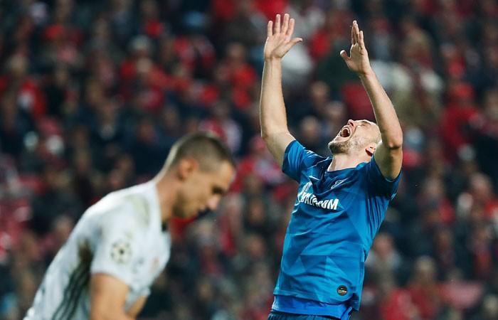 Дзюба вновь стал футболистом года по версии РФС»
