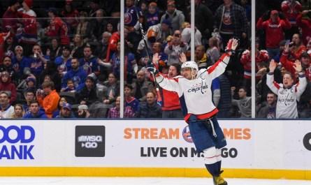Овечкин вошел в топ-10 снайперов в истории НХЛ