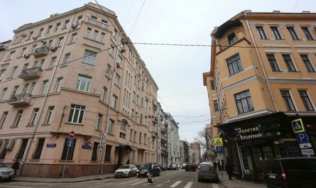 В Москве отменили уплотнительную застройку на Спиридоновке