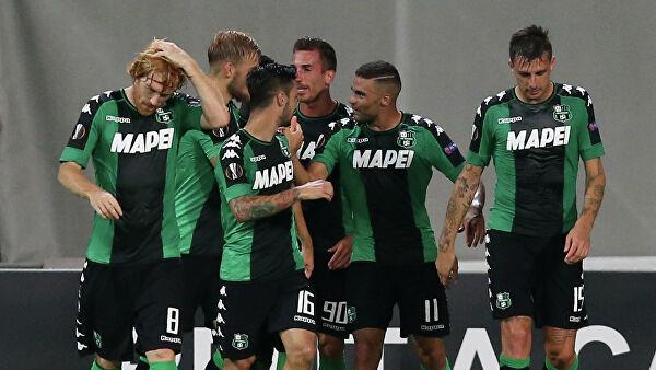 «Рома» пропустила четыре мяча от «Сассуоло» в матче чемпионата Италии