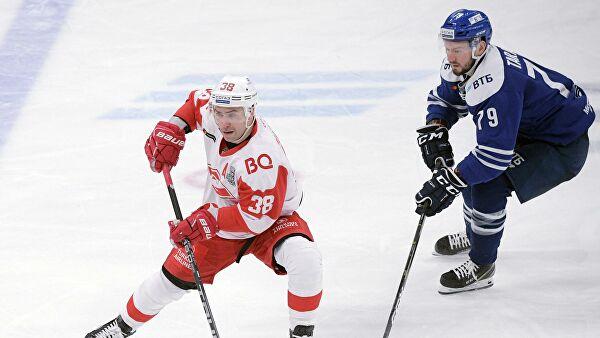 Шестой матч плей-офф КХЛ «Спартак» – «Динамо» пройдет без зрителей