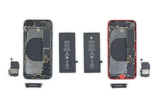 iFixit рассказал, какие детали iPhone 8 можно использовать в iPhone SE