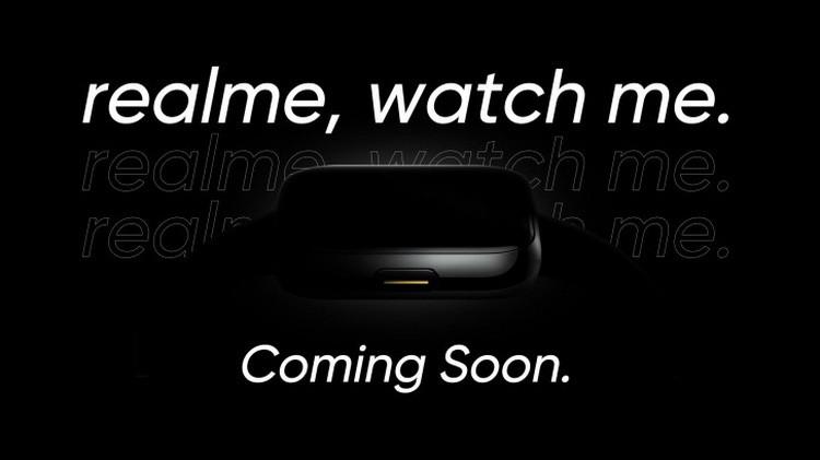 Realme подтвердила, что представит свои первые часы и телевизор 25 мая
