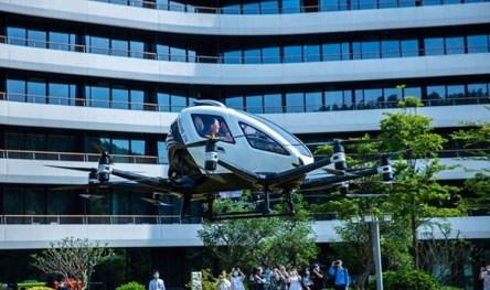 В этом году в Китае появятся воздушный туризм на автономных аэротакси