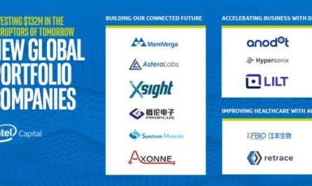 Intel Capital инвестирует $132 млн в 11 прорывных технологических стартапов