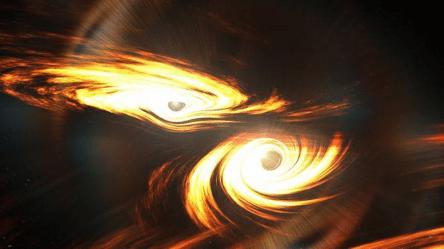 Астрономы зафиксировали самое масштабное столкновение чёрных дыр