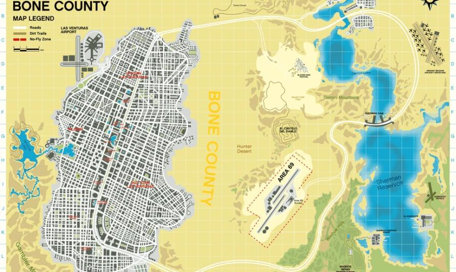 В сети опубликовали карту для GTA 6