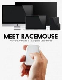 RaceMouse совмещает воздушную мышь, лазерную указку и тачпад