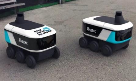 Самоуправляемый робот «Яндекса» начал доставлять продукты по Москве