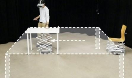 Система RoomShift делает виртуальную реальность осязаемой [ВИДЕО]