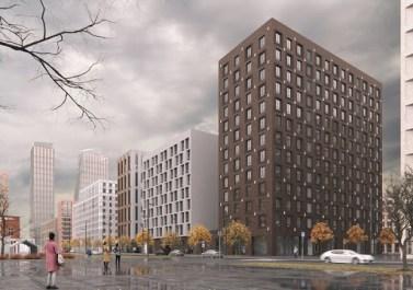 «Группа ЛСР» начала строительство трех новых домов в «ЗИЛАРТе»