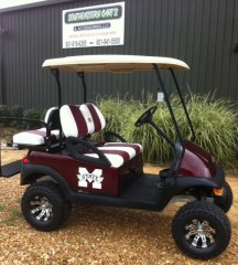 MSU - Mississippi State Custom Golf CartMSU - Mississippi State Custom Golf Cart