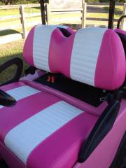 custom-pink-golf-cart-seats