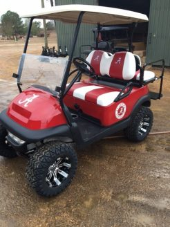 Alabama Crimson Tide Golf Cart