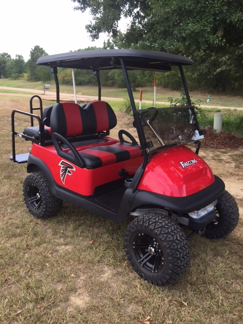 Atlanta Falcons Club Car Golf Cart