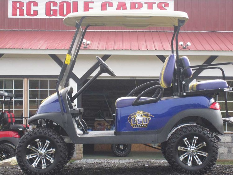 Louisiana State University Club Cart