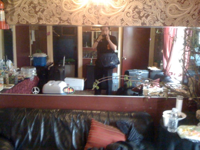 Dresden Dolls - Backstage - Fillmore Theatre