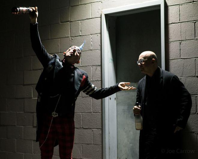 """Drunk"" Mercutio & Benvolio"