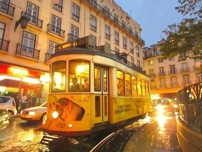 Bondinho em Lisboa, um charme