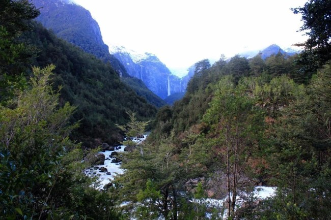 Queulat, na patagônia Chilena