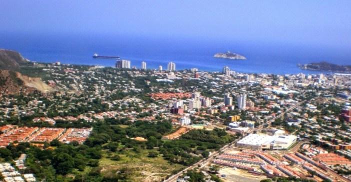 Resultado de imagen para panoramica de santa marta