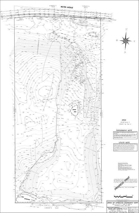 Topographic Design Survey sample