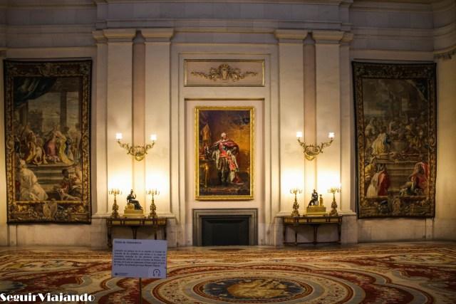 Palacio Real Madrid - Seguir Viajando