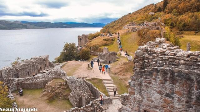 Urquhart Castle - Highlands escocesas - Seguir Viajando