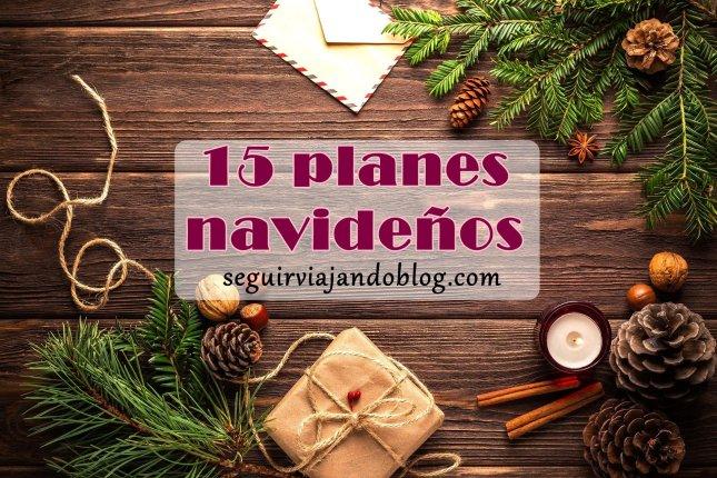 15 planes navideños - Seguir Viajando