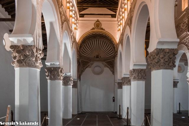 Sinagoga Santa María la Blanca - qué visitar en Toledo - Seguir Viajando